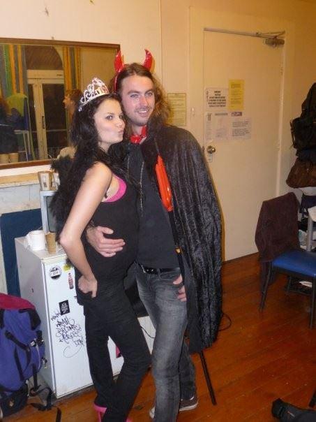 Ma ja Steve 2009. aasta Halloweenil :D